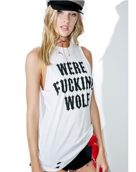 Werewolf Sleeveless Tank