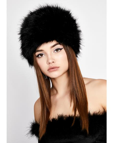 Frozen Assets Fur Hat