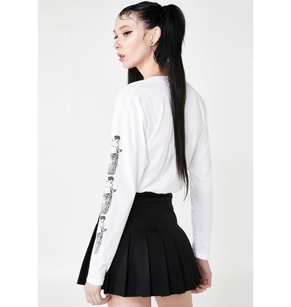 NEW GIRL ORDER Aphrodite Long Sleeve Tee