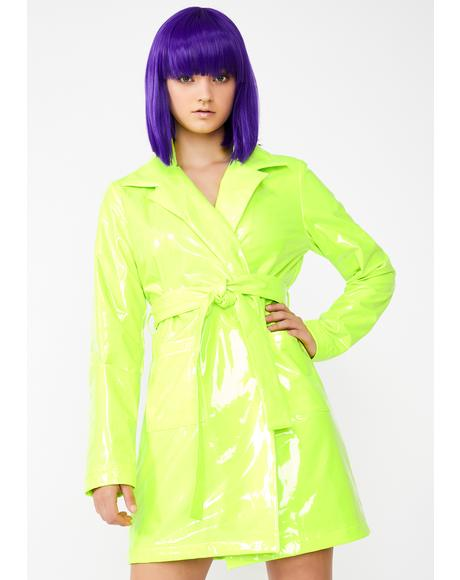 Slime Viral Vengeance Trench Coat