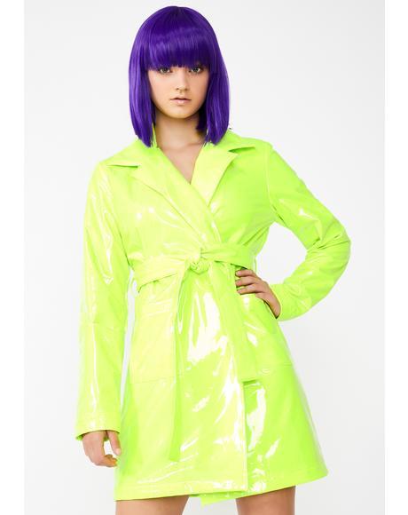 Slime Viral Vengeance Trench Coat