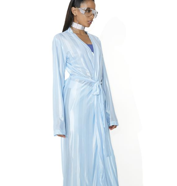 Sashay Away Striped Robe