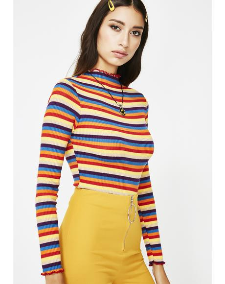 Friday Night Lights Stripe Top
