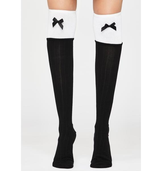 Promise To Be Good Knee Highs