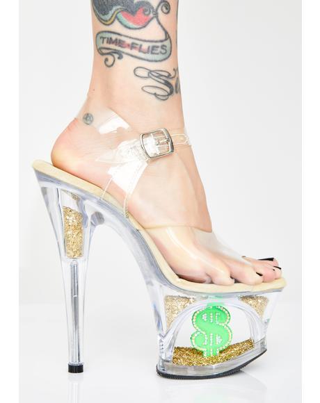 Shmoney Honey Platform Heels