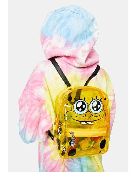 Under The Sea Clear Spongebob Backpack