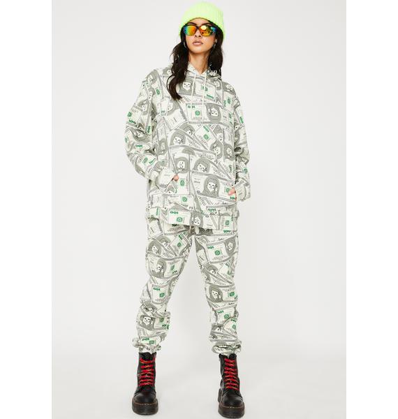 RIPNDIP Money Bags Graphic Hoodie