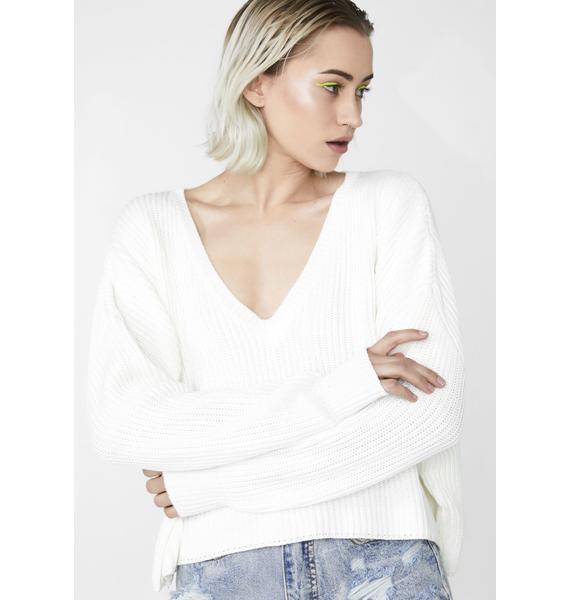Alternate Reality Knit Sweater