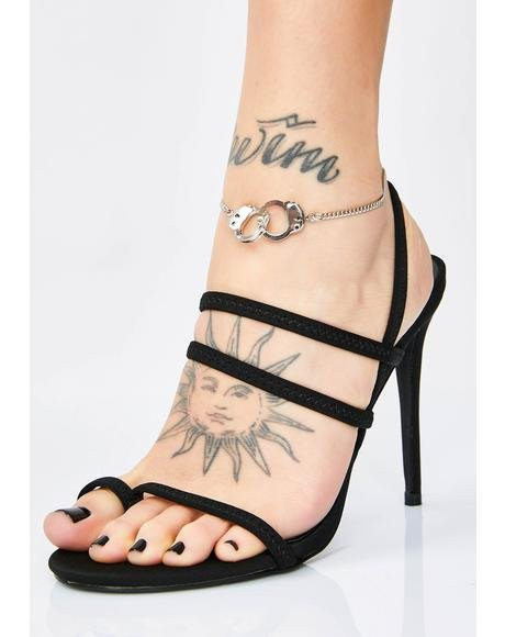 No Cuffing Season Handcuff Anklet