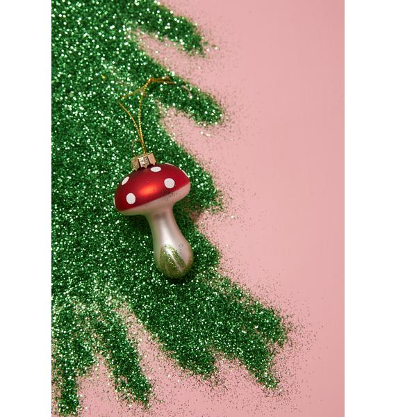 Teeny Toadstool Ornament