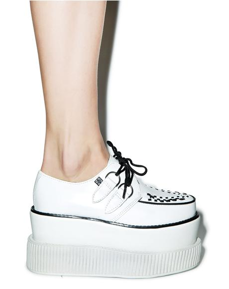Double Stacked Leather Viva Mondo Creeper