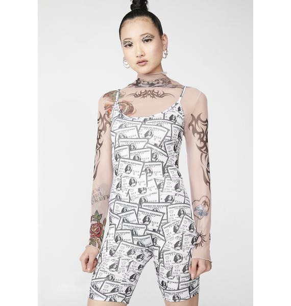 NEW GIRL ORDER Credit Card Romper