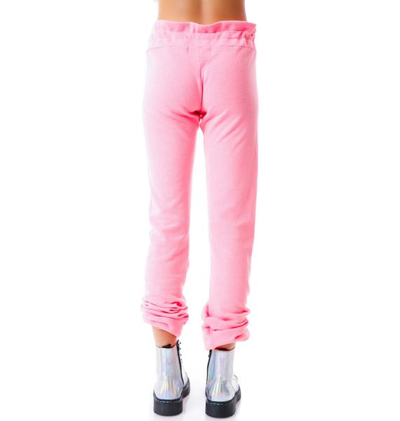 Wildfox Couture Oo La La Malibu Skinny Sweats