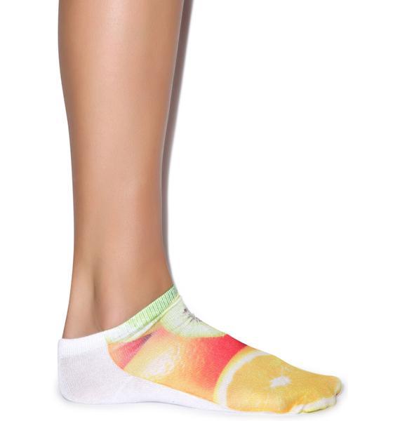 Juicy Fruit Ankle Socks