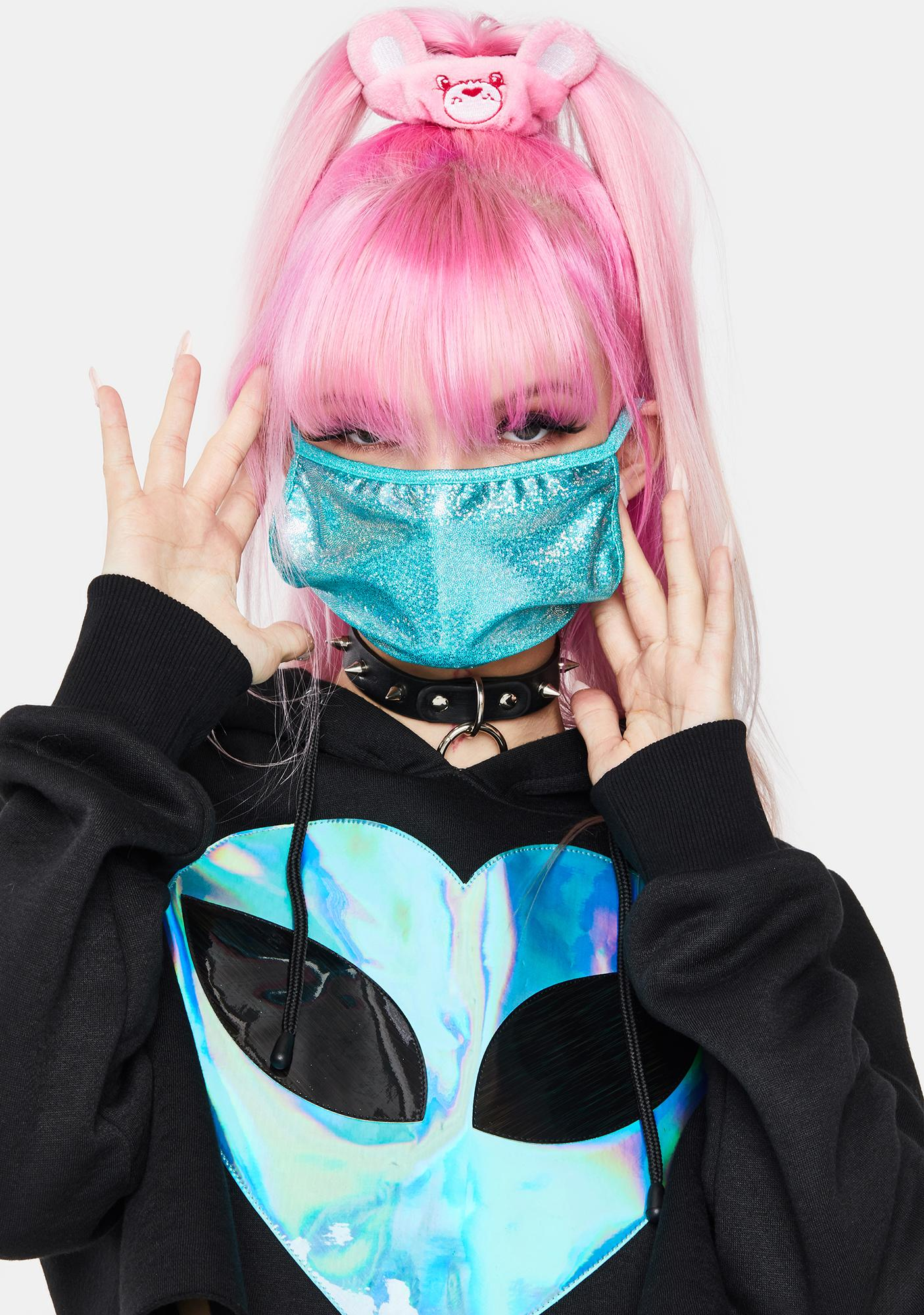 Aqua Shimmer And Shine Face Mask