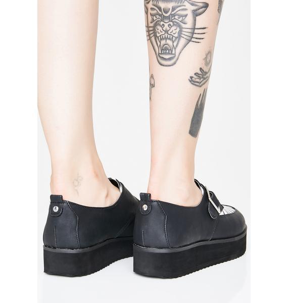 Bad News Betty Vegan Leather Creepers