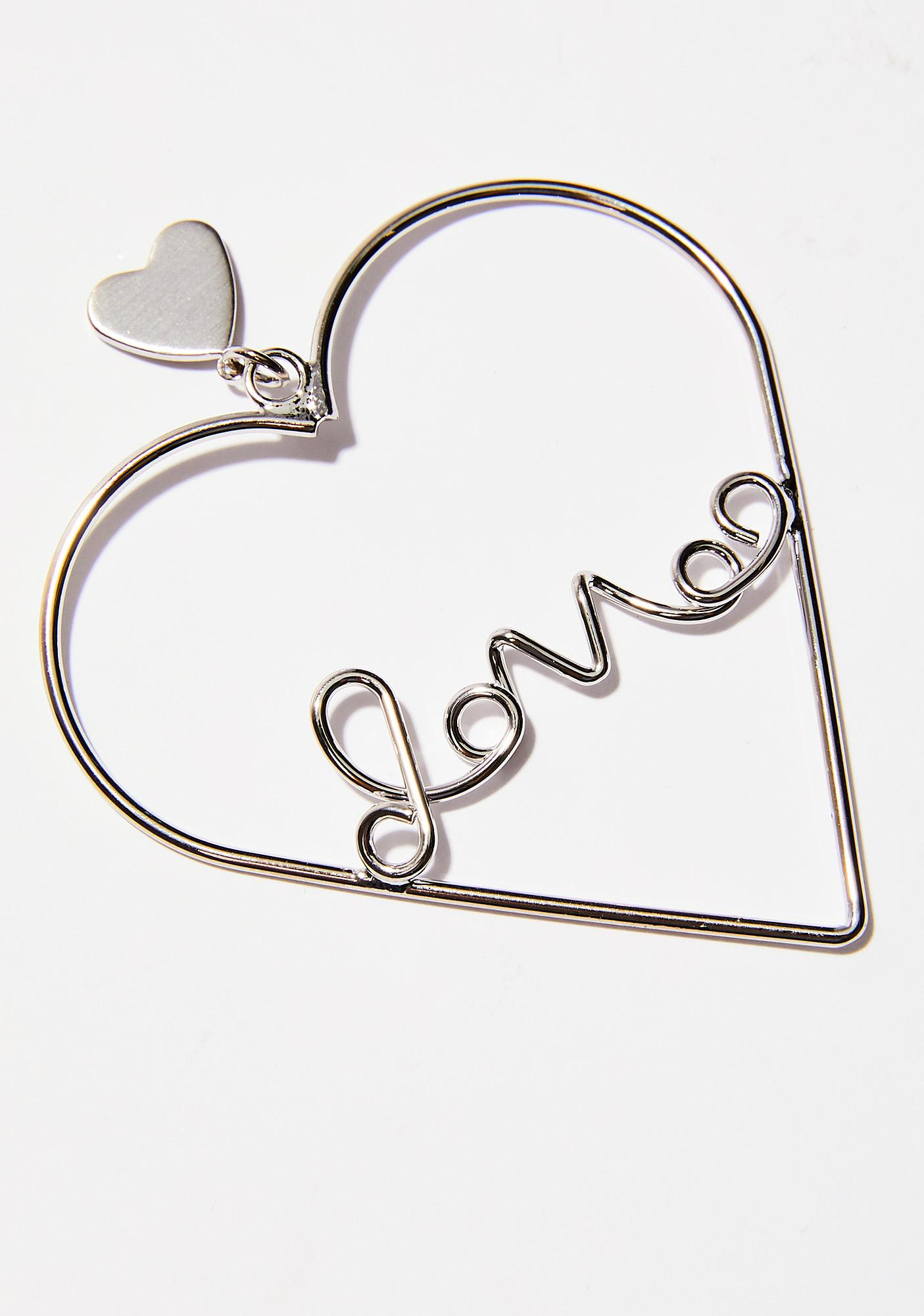 Addicted To Love Heart Earrings