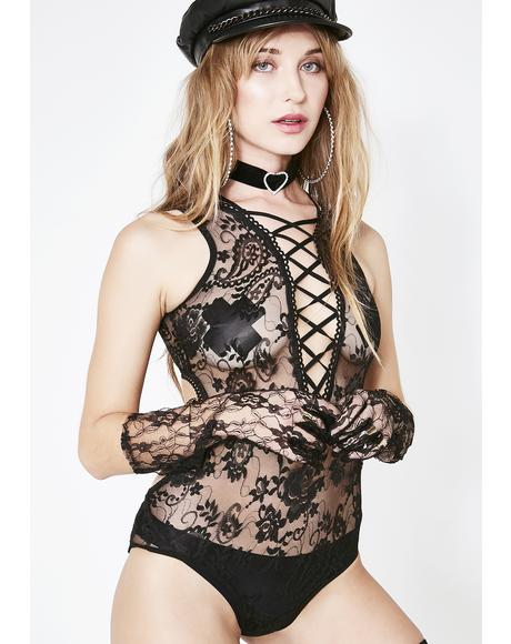 Gypsy Romance Lace Teddy