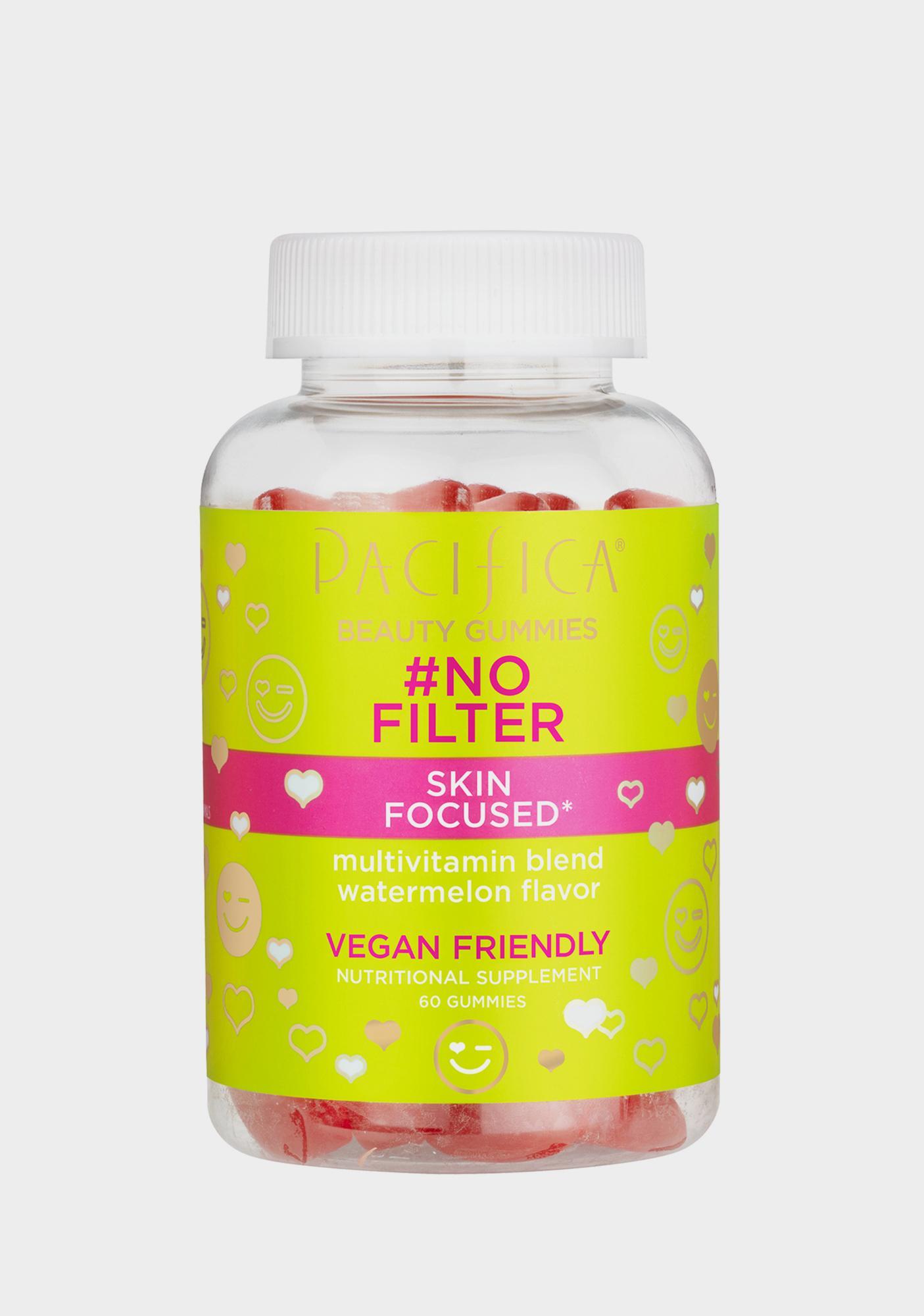 Pacifica No Filter Skin Focused Gummies