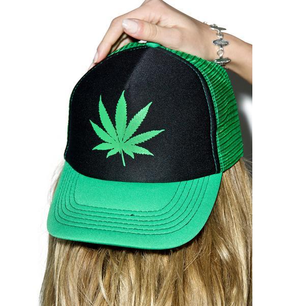 Let's Get High Mesh Cap