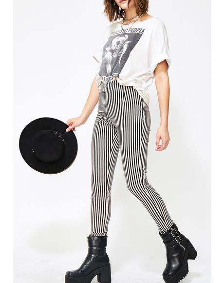 Pinstripe Jolim Trousers