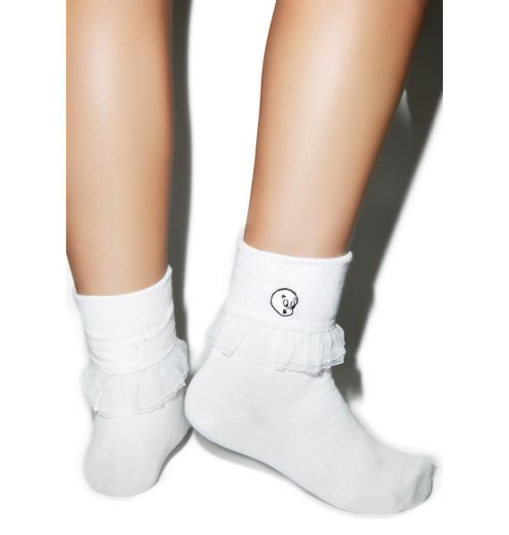 Lazy Oaf X Casper Socks