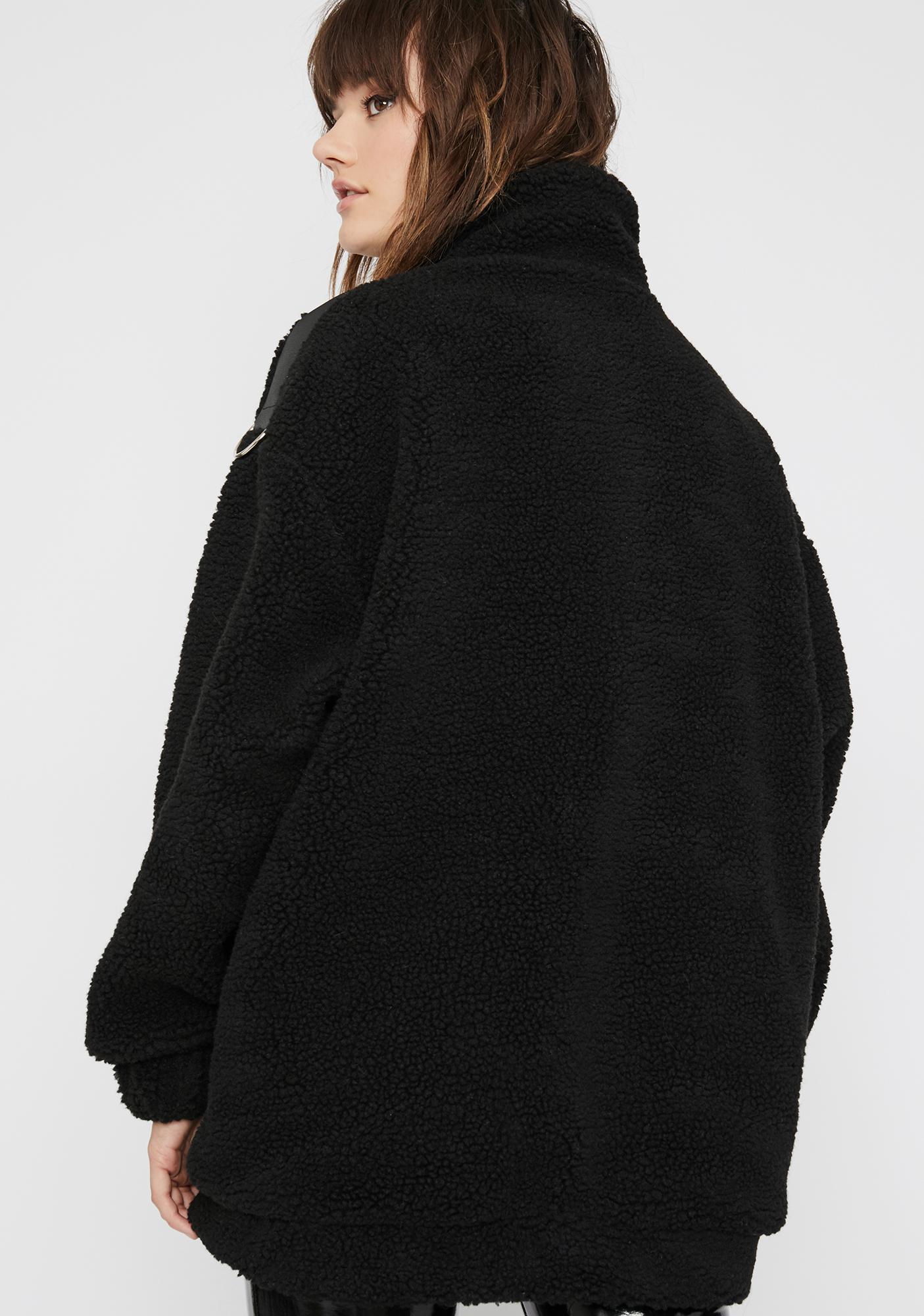 Current Mood Savage Taught Me Fleece Jacket