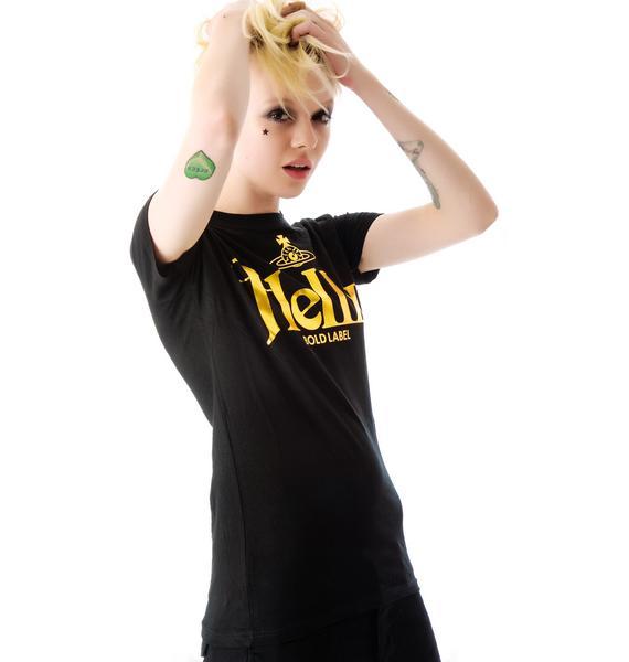HLZBLZ x Belle of the Brawl Bold Label Slim Fit Tee