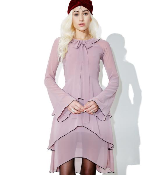 For Love & Lemons Souffle Midi Dress
