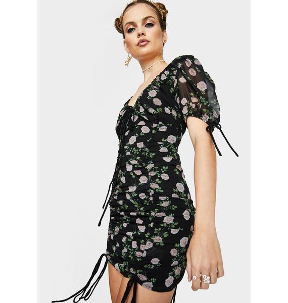 Garden Frenzy Mini Dress