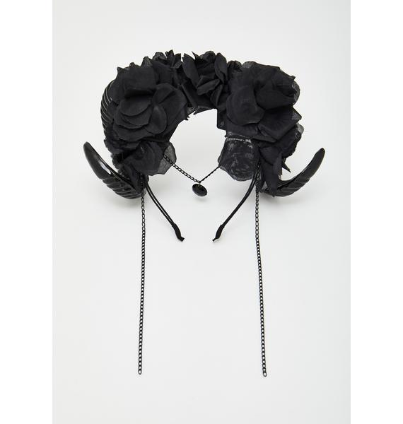 Mystical Rams Horns Headpiece