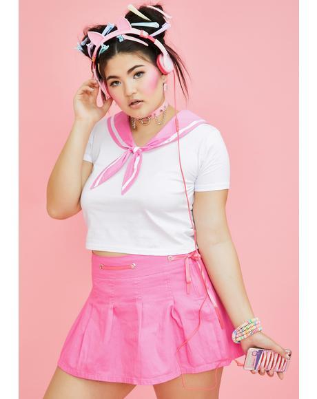 Miss Sassy Sailor Baby Tee