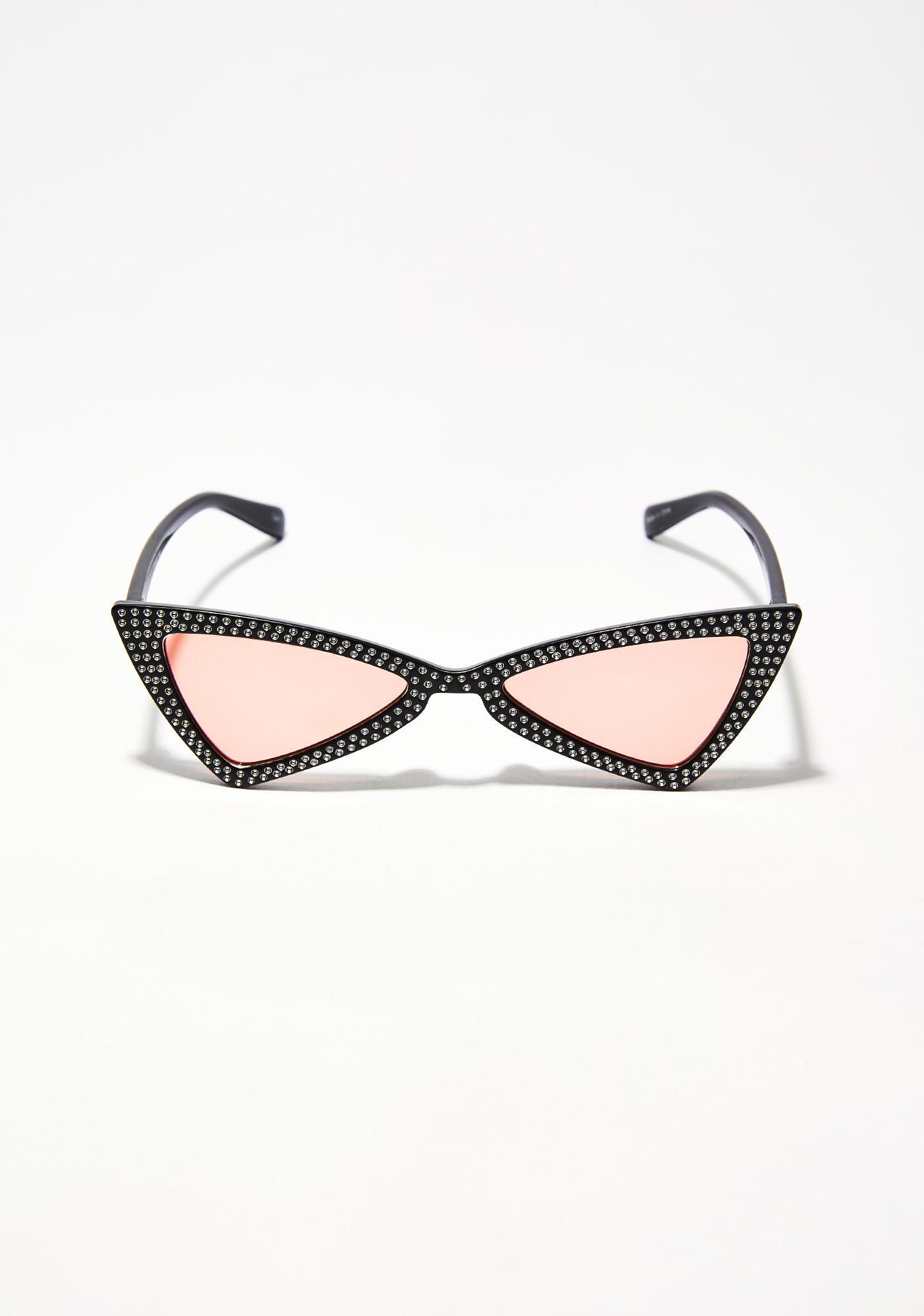 Electric Lolita Jeweled Sunglasses