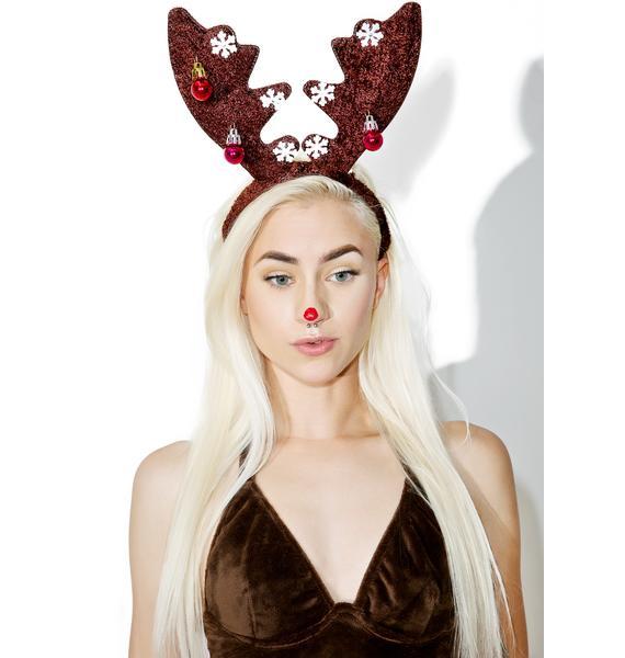 Deerly Beloved Light-Up Headband