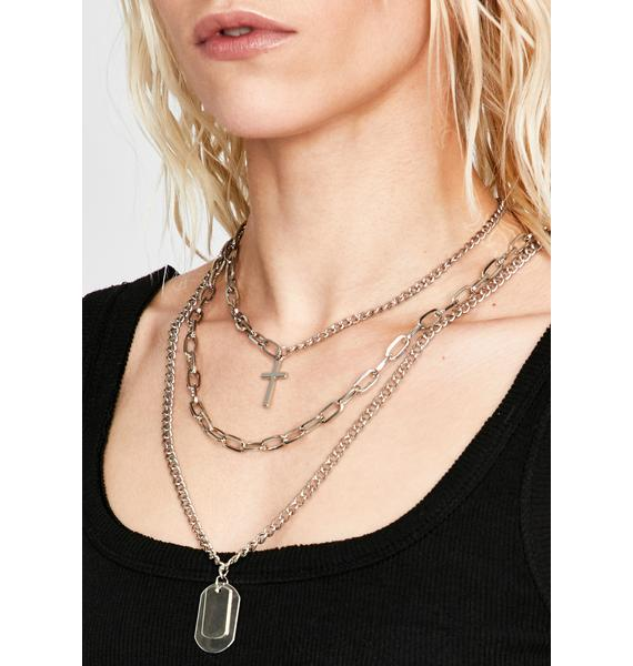 Sup Dawg Layered Necklace