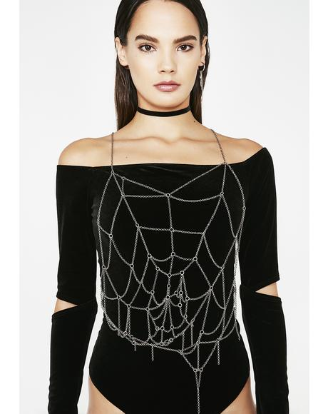 Walk Into My Web Body Chain