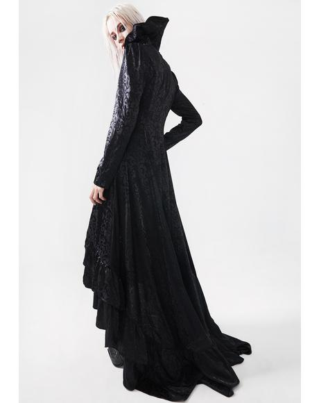 Gothic Witch's Wedding Long Coat