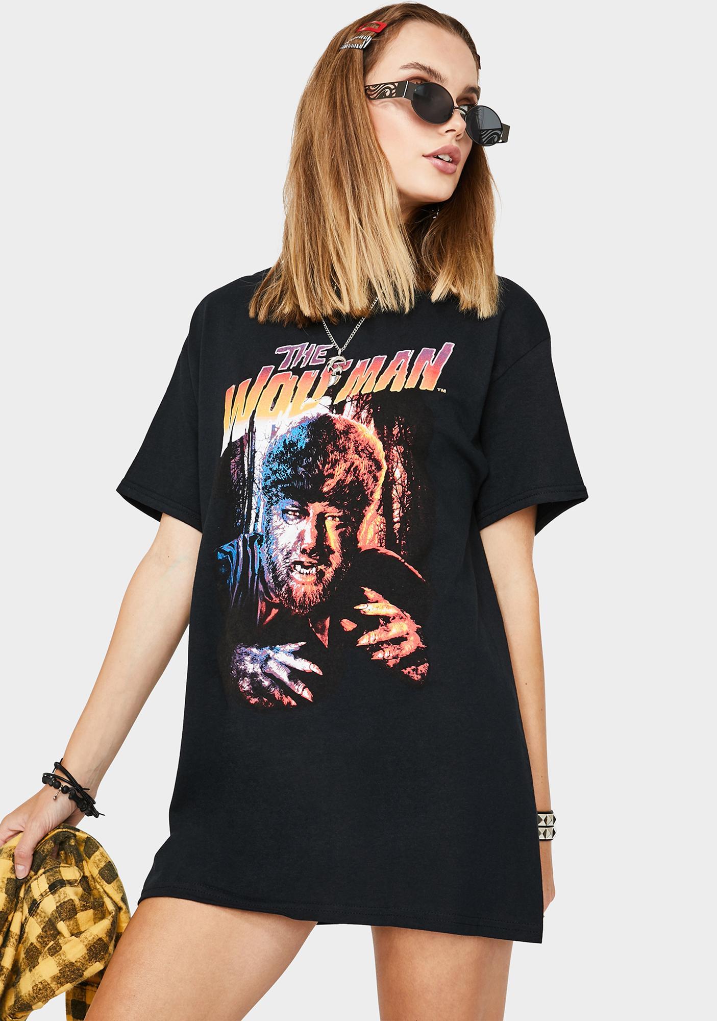 Rock Rebel Wolfman Graphic Tee
