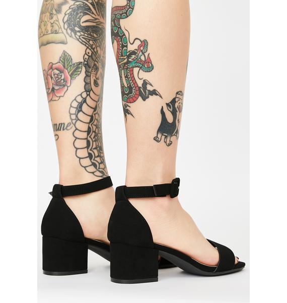Such A Saint Block Heels