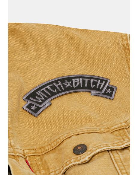 Witch Bitch Arch Patch