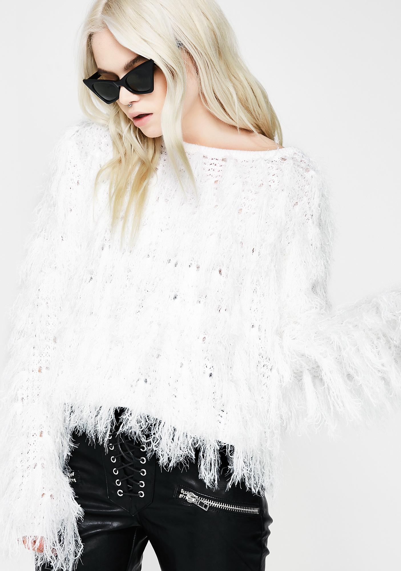 Champagne Powder Sweater