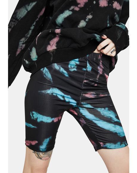 Khloe Tie Dye Biker Shorts