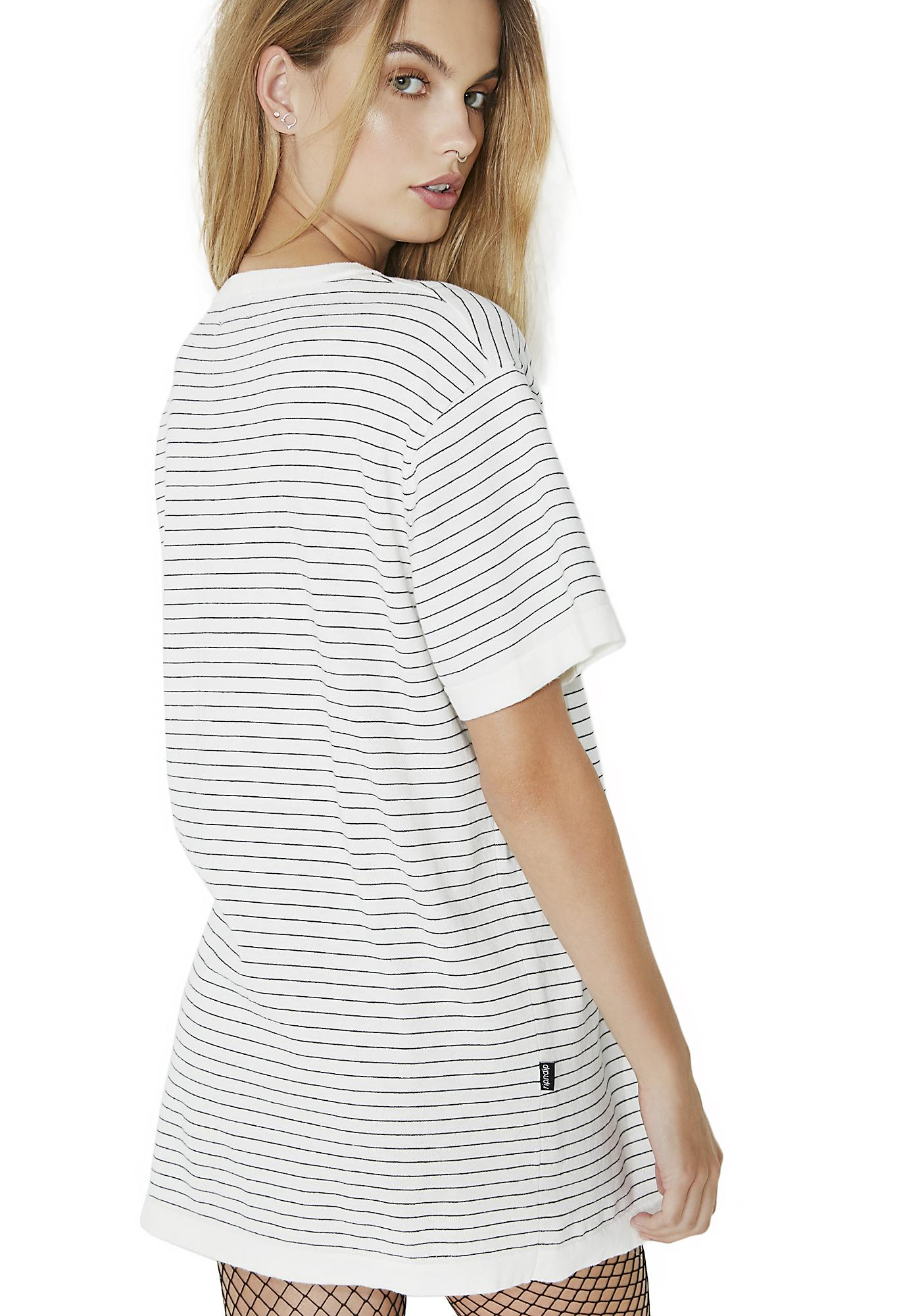 RIPNDIP Peeking Nermal Stripe Tee