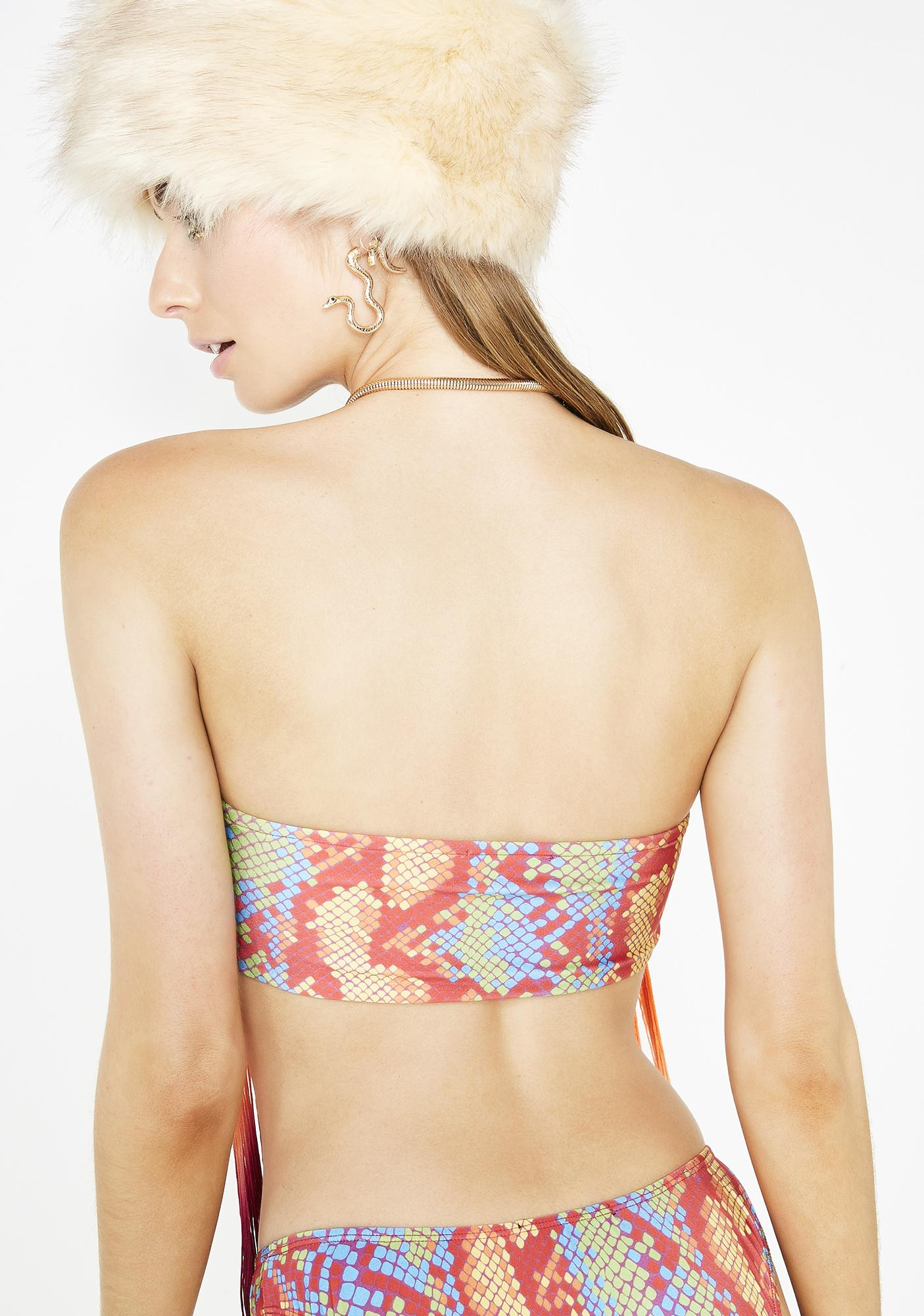 Club Exx Funk Empire Reversible Tube Top
