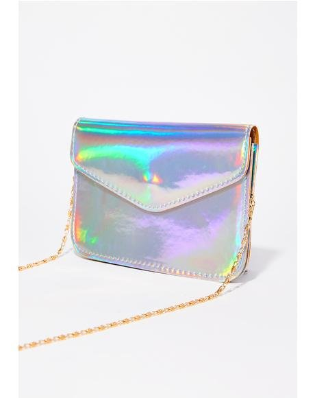 Silver Beamin' Light Crossbody