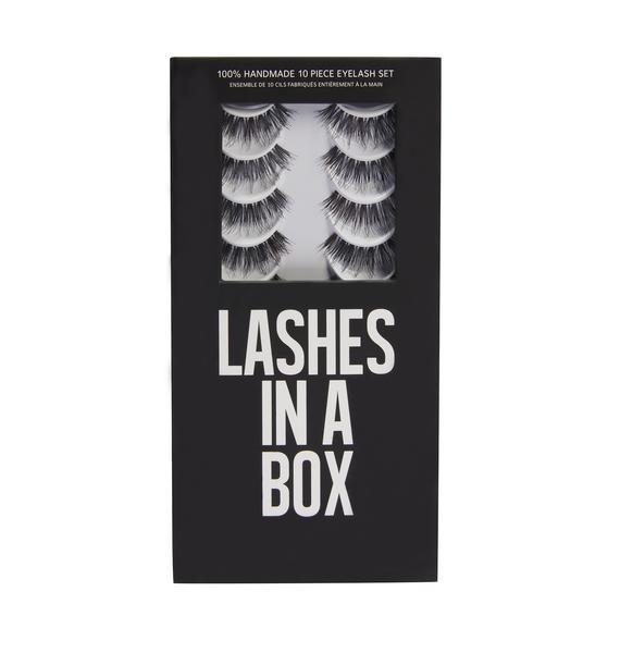 LASHES IN A BOX N°29 Natural Hair Eyelashes