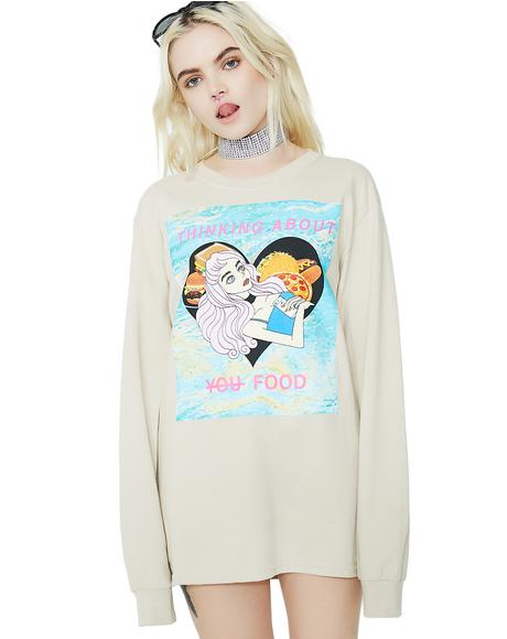 Thinking About You Long Sleeve Shirt