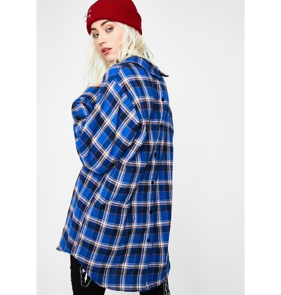 Rude Renegade Flannel Shirt