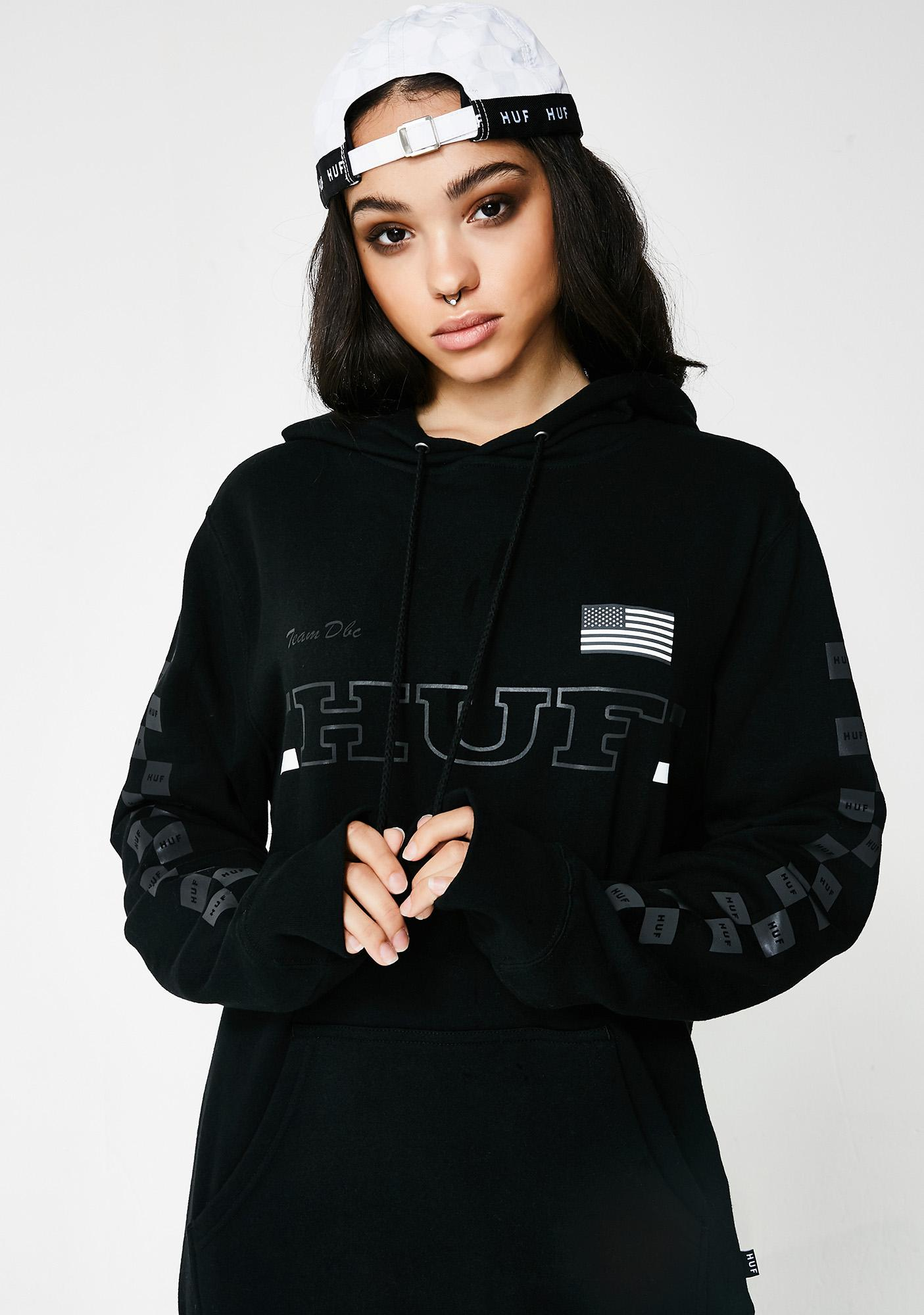 HUF Blackout Team Pullover Hoodie