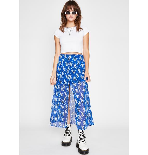 Little Darling Floral Skirt